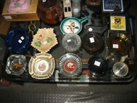 Several collectible ashtrays - Some vintage Vegas Ash tray