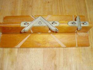 Vintage Gem Folding Mitre Box