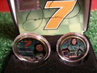 Danica Patrick Colourized Coin Set