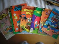 Lot of 8 Different Disney Comic Books