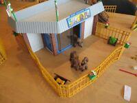 Grand zoo de playmobil