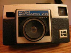 KODAK INSTAMATIC X-15 CAMERA.....VINTAGE COLLECTOR ITEM