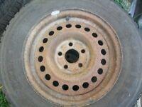 4 kumbo winter tires on sunfire rims