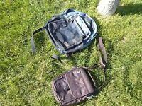 Sac à dos bleu + sac brun à bandoulière neuf
