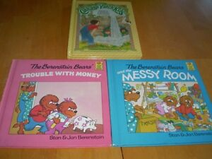 VINTAGE KIDS BOOKS BERENSTAIN BEARS AND CABBAGE PATCH