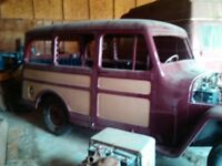 Restoration Project - two 1947 Willys Overland
