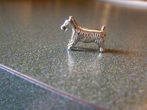 Small Pewter Dog