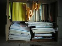 Big Box Full of Postcards and Other Collectibles