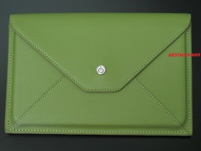 Kobo Ereader Leather Case Cover Bag Ex.point Velocity Micro Cruz E Reader Green