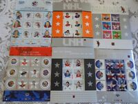 NHL Canada Post Stamps