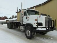 "2003 INTERNATIONAL 5600i BED TRUCK 313"" AT www.knullent.com"