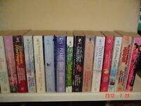 "DOZENS OF ""HARLEQUIN"" PAPERBACKS WITH 2 OR 3 NOVELS IN ONE BOOK"