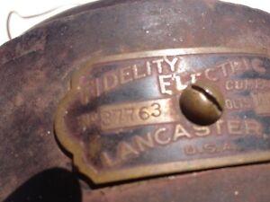 VINTAGE ELECTRIC INDUSTRIAL MOTOR reduced Belleville Belleville Area image 4