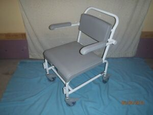 Shower commode chair.