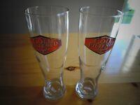 Cold Filtered Light Beer Glasses