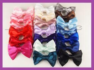 Bowknot-Ribbon-Hair-Clip-Barrette-Satin-Hair-Headband-Bow-Alice-Ponytail-Wedding