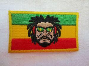 Rasta Ethiopia Iron On Patch