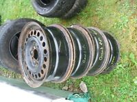 15'' steel rims for 2000 Grand Am