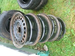 4 steel rims 15'' for 2000 Grand Am
