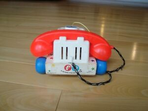 Vintage 1960's Fisher Price Chatter Telephone #747 Pull Toy Kitchener / Waterloo Kitchener Area image 5