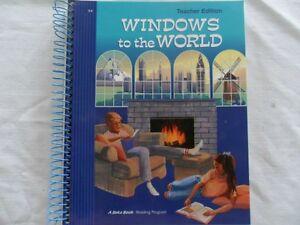 A Beka Reading Program Teachers Edition textbook - grade 5