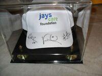 MLB Toronto Blue Jays Baseball Wells McGowan Accardo signed Hat