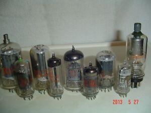 Vacuum Tubes 5KE8, 6AV6, 6CB6A, 6DT6, 6HZ6, 6LF8, 6FG7, 6GM6, Windsor Region Ontario image 6