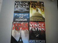 Selected Hardcover Vince Flynn Books