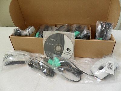 (lot Of 10) Logitech Rx300 3-button Usb/ps/2 3d Optical Mouse 931433-0403