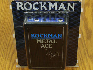NEW Rockman Tom Scholz Metal Ace Headphone Amplifier & Stereo Headset Effects