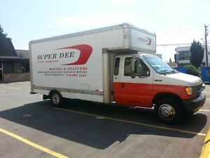 Super Dee 1 Ton Services Moving Special 85.00 or Flat Rate!