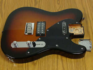 LOADED-2011-Mahogany-Telecaster-Tele-Bration-60th-BODY-100-OFF
