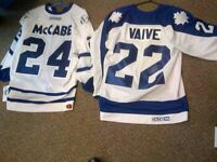 Clearance Maple leafs signed Hockey Jerseys McCabe