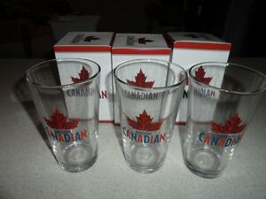 Molson Canadian Brand New Glasses In Box