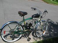 instalation moteur a gas 48cc pour votre vélos bicyclette