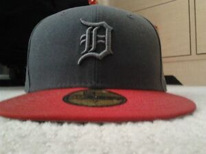 Detriot Tigers Fitted Cap