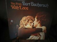 Hits From Burt Bacharach With Love on Vinyl