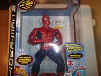rare new in box infra red spiderman 3 action command with remote