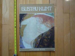 art Gustav Klimt : A Poster Book twenty-two ethereal color plate