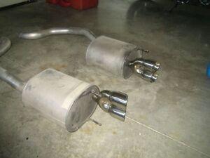 Chevrolet Corvette exhaust / Mufflers with Chrome ports Windsor Region Ontario image 1