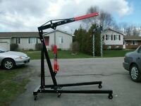 CHERRY PICKER ENGINE HOIST FOR RENT