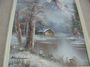 ESTATE SALE--OIL PAINTING ON  CANVAS---SIGNED KAUFMAN
