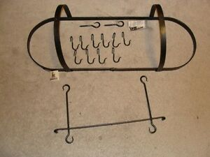 Kootenay Forge Oval Pot Rack