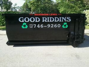 Dumpster Rental (Junk Removal) Roll-Off - GOOD RIDDINS INC. Gatineau Ottawa / Gatineau Area image 2