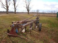 Ford 130 Semi mount plow