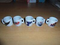 Mini NHL Mugs