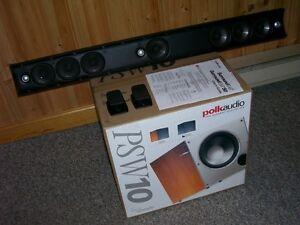 "POLK Audio SurroundBar with FREE BONUS .... new 10"" SUB!"