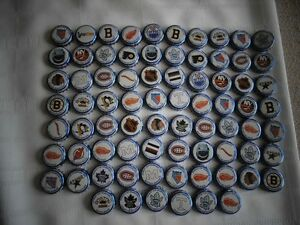 76 Labatt Blue Stanley Cup Winning Teams Bottle Caps