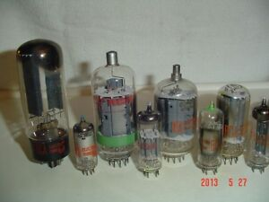 VACUUM TUBES 6JZ8, 12HG7, 6GF7A, 6BZ6, 6CL3, 6EW6, 6GU7 & 6JH6, Windsor Region Ontario image 1