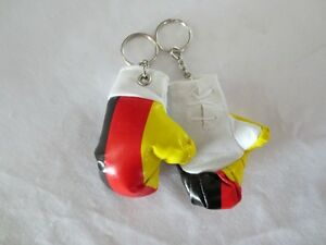 Germany Boxing Glove Keychains